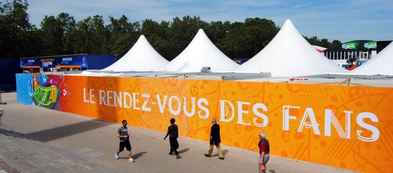 A Bordeaux, la fan zone fait-elle pschitt ?