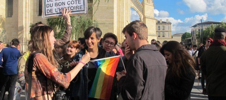 La Manif pour tous évite le rassemblement contre l'homophobie