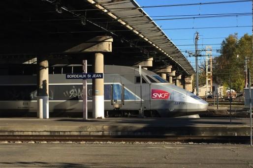 TGV en gare de Bordeaux (Eric Salard/flickr/CC)