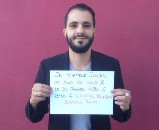 Julien Chaumet publie sa recherche sur Facebook (DR)