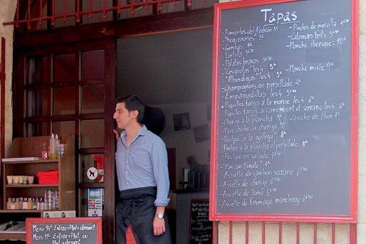 Luis Velayos a ouvert La Meson Venta avec son père, arrivé à Bordeaux dans les années 60 (AP/Rue89 Bordeaux)