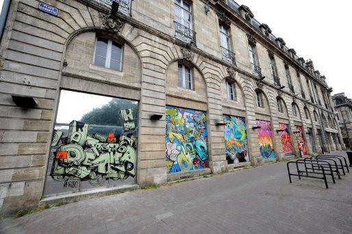 L'exposition Transfert 6 aura lieu dans le bâtiment où était installé Virgin, place Gambetta à Bordeaux (© Nathalie Kaïd)
