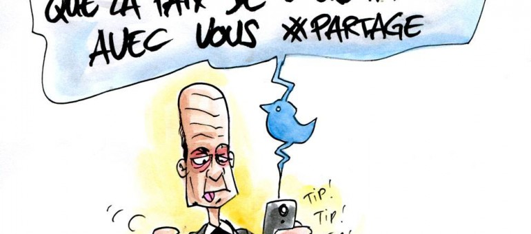 Cette fois, Alain Juppé a vraiment twitté