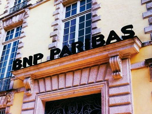 Une agence BNP Paribas (SM/Rue89 Bordeaux)