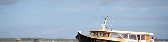 Le Greenboat sur le Bassin d'Arcachon (© Cobas)