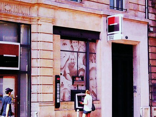 Une agence de la Société générale (SM/Rue89 Bordeaux)