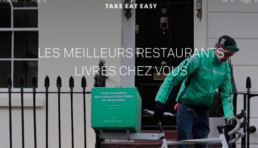 Capture écran du site de Take Eat Easy (idem photo en une)