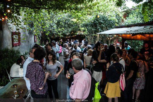 La soirée de soutien à Rue89 Bordeaux qui s'est déroulée le 6 juillet au bar de La Marine (AboutLightAndMen@Kami)