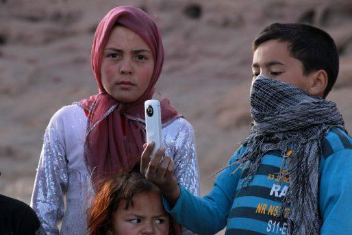 Les enfants de Bamiyan (© Pascal Convert)