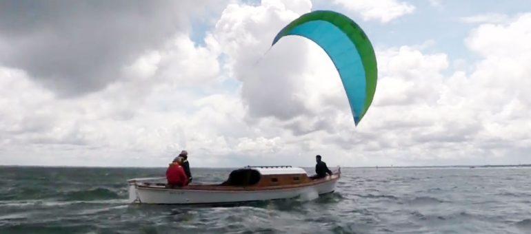 Depuis le bassin d'Arcachon, les cargos bientôt dans le vent