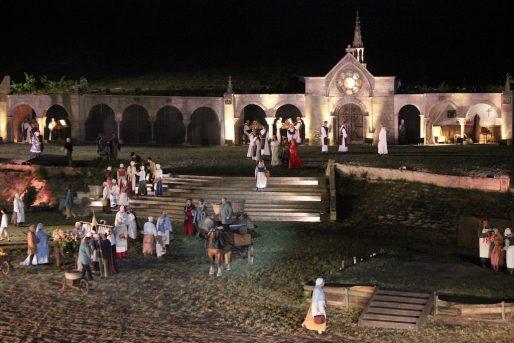 Le spectacle raconte la reprise de l'Aquitaine par l'armée du roi de France (MD/Rue89 Bordeaux)