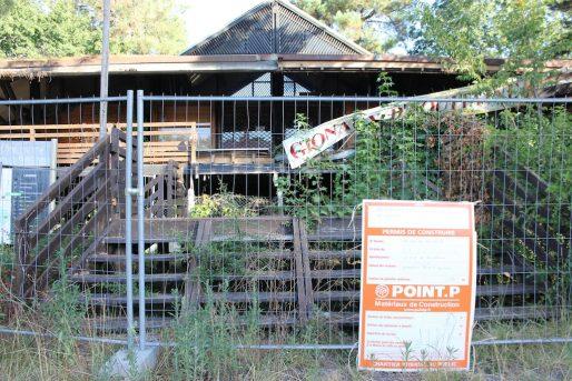 La Maison d'Aquitaine a été désertée par ses occupants (MD/Rue89 Bordeaux)