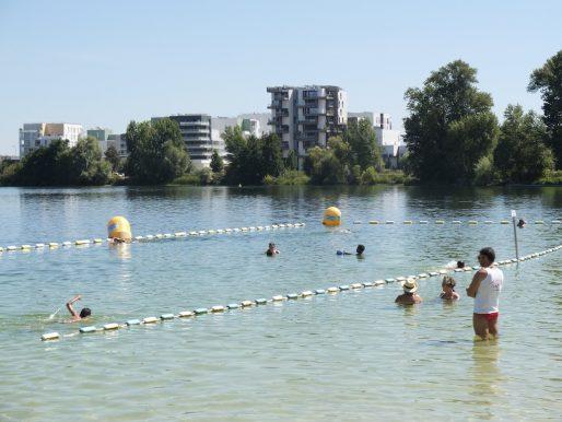 Des enfants passent un brevet natation. (SB/Rue89 Bordeaux)