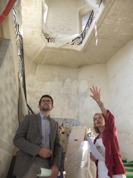 Fabien Robert et Nathalie Mémoire (SB/Rue89 Bordeaux)
