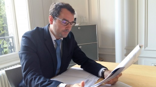Maître Jean Merlet-Bonnan, avocat bordelais de Droit des Lycéens (CB/Rue89 Bordeaux)