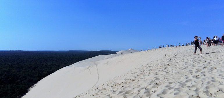 Un parking relais pour la dune du Pilat ?