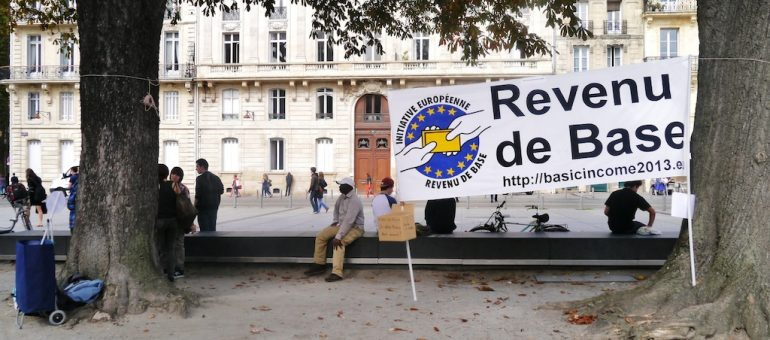 Un revenu de base «crédible et audacieux» en Gironde et sept autres départements