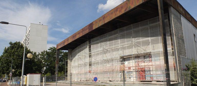 La rénovation de la Salle des fêtes du Grand Parc commence