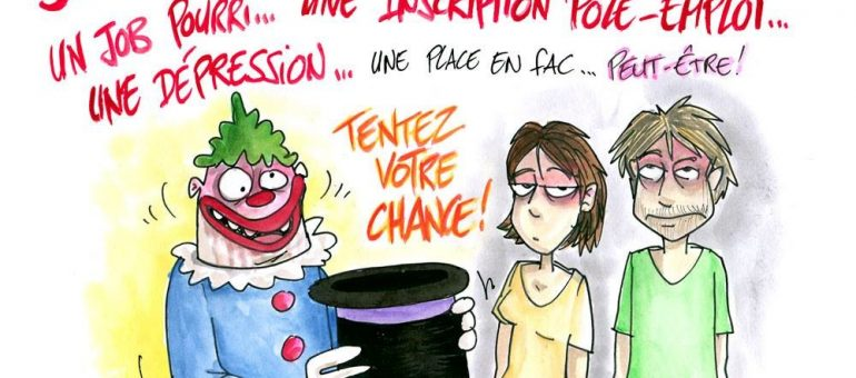 Université de Bordeaux : les recalés du tirage au sort en justice