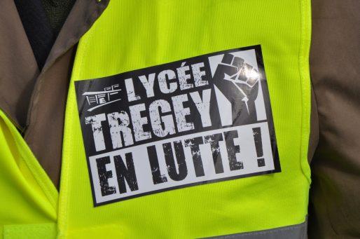 Le lycée professionnel Tregey n'en est pas à sa première lutte (XR/Rue89 Bordeaux)
