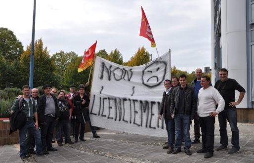 Cortège en soutien à Stéphane de la Monnaie de Paris (Xavier Ridon/Rue89 Bordeaux)