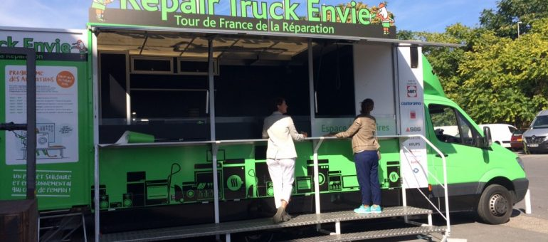 Un «Repair truck»  pour retaper ses objets ce mardi à Bordeaux