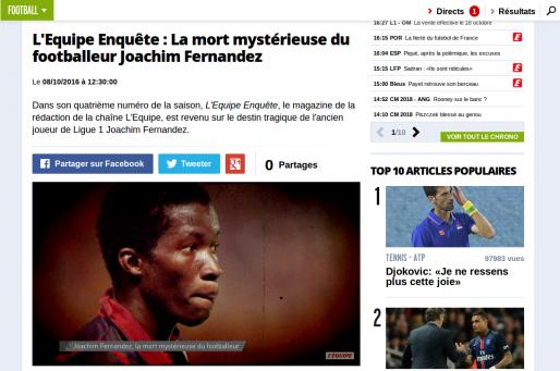 (Capture d'écran/lequipe.fr)
