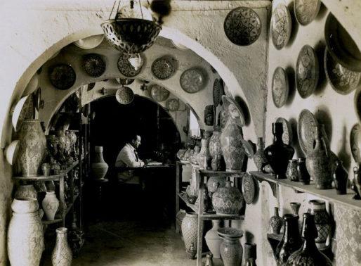 Lamali dans son atelier (DR)