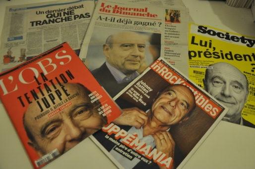 A la Une de la presse, beaucoup de questions (rhétorique ?) autour d'Alain Juppé (XR/Rue89 Bordeaux)
