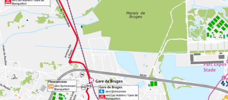 A peine inaugurée, l'extension de la ligne C vers Blanquefort est à l'arrêt
