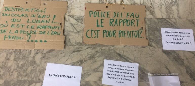 Les opposants au golf de Villenave réclament le rapport de la Police de l'eau
