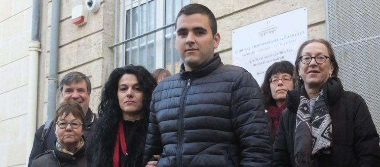 Les menaces d'expulsions de jeunes sans-papiers indignent à Bordeaux