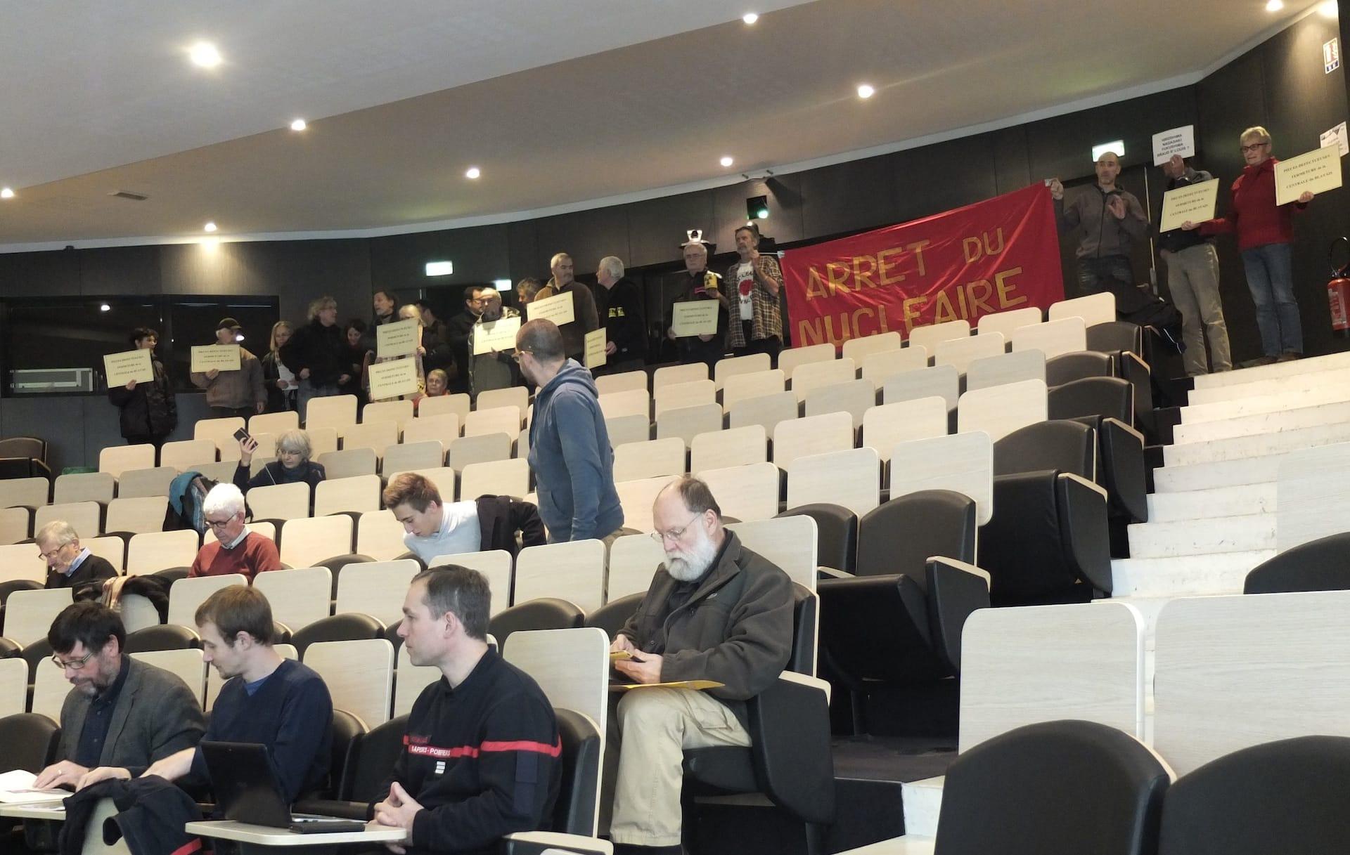 La commission d'information nucléaire du Blayais ferme ses réunions au public