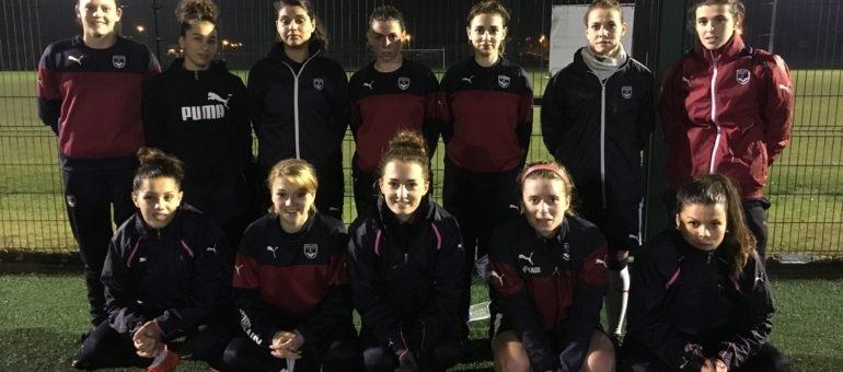 Les Girondines de Bordeaux découvrent l'élite du foot féminin