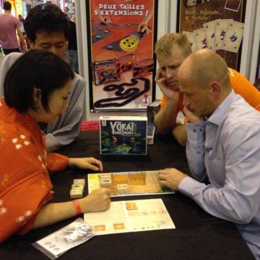 Cédric Huet, de Ferti Games (à droite) (DR)