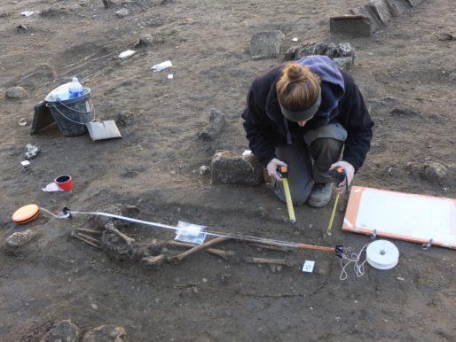 A Castéja, les fouilles vont durer jusqu'à fin janvier 2017 (SB/Rue89 Bordeaux)