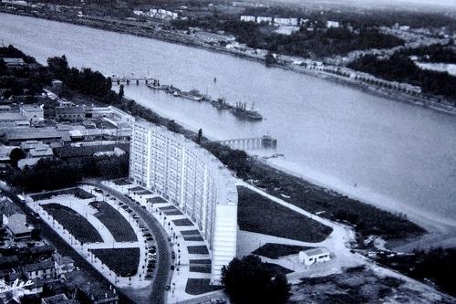 La Cité lumineuse à Bacalan, en 1963 (Michel Le Collen /bassinsaflot.fr/DR)