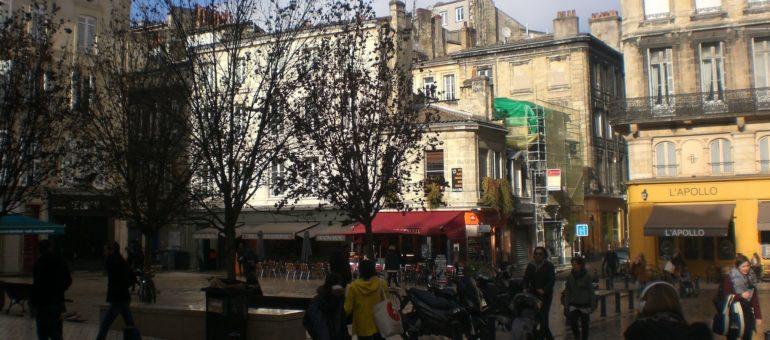 La place Fernand-Lafargue, branchouille mais pas que