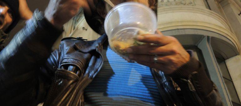 La solidarité des Bordelais contre la faim et le froid