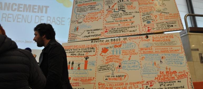 Un revenu de base de 1000 euros proposé à la Gironde