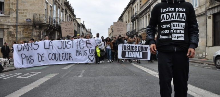 500 personnes marchent contre les violences policières à Bordeaux
