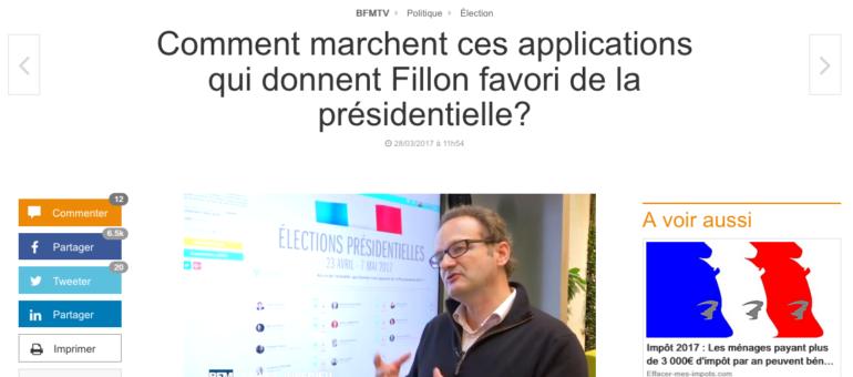 Un sondage Multivote donne Fillon gagnant de la présidentielle