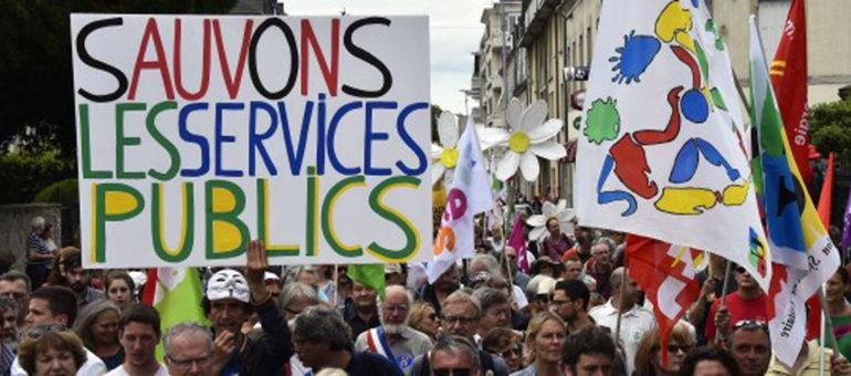 Bordeaux : Lancement d'un manifeste national pour sauver les services publics