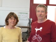 Jean-François et Nicole Gire partagent leurs conseils et expériences de cyclistes voyageurs au travers de l'association Cyclo-Camping International. DR/Rue89Bordeaux-FH