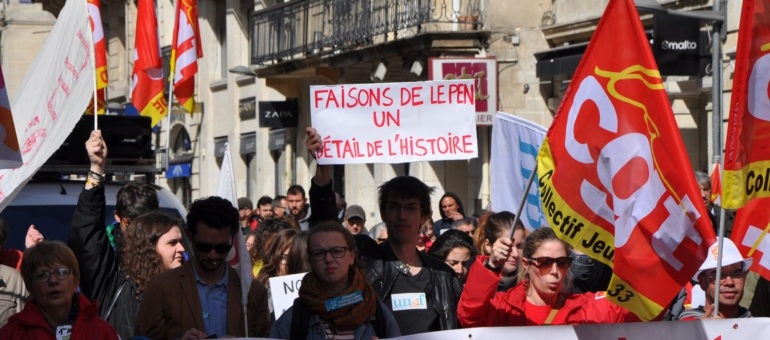 Un 1er mai contre le FN, des Bordelais entre vote Macron et «ni ni»