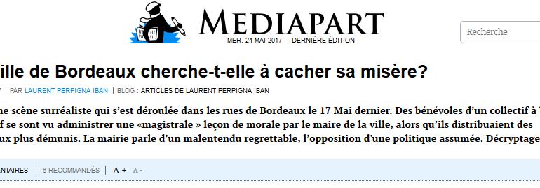 Contraint de s'excuser, Alain Juppé se gamelle sur une maraude