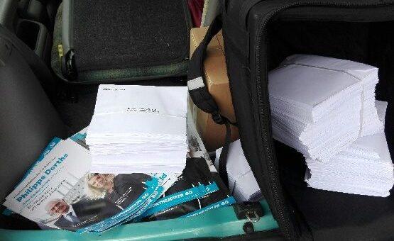 Après les taxis et les livreurs, l'ubérisation touche la diffusion de tracts pour les législatives