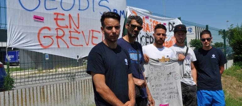 Les Geodis de Bruges en grève depuis une semaine pour faire respecter la loi