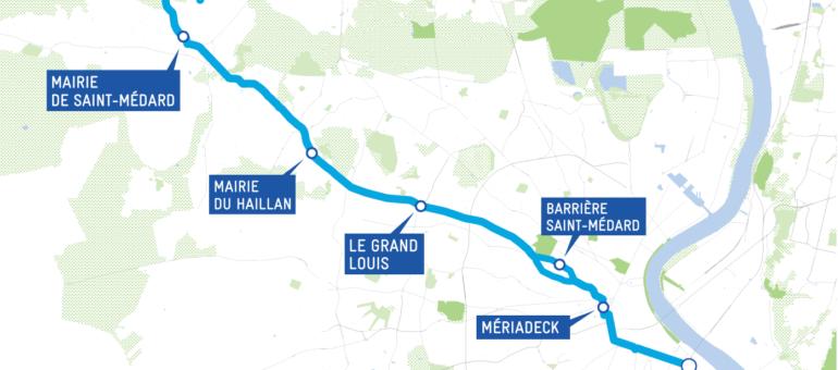 Une issue de secours en perspective pour le BHNS Bordeaux – Saint-Aubin