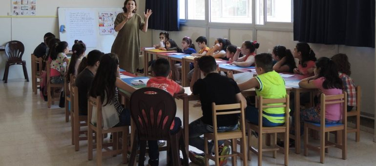 Journal d'une Bordelaise chez les jeunes réfugiés au Liban